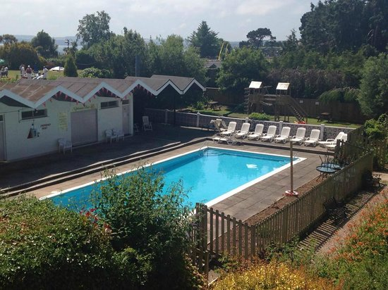 Seasonal outdoor pool picture of grosvenor hotel torquay - Hotel in torquay with indoor swimming pool ...