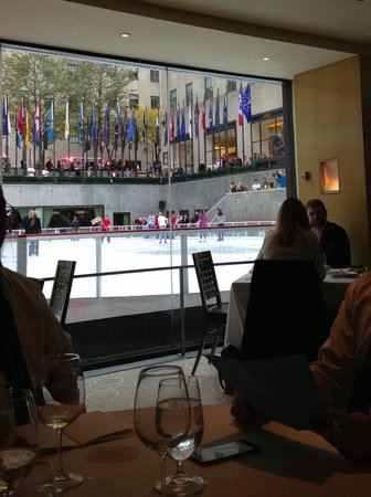 The Sea Grill : View of the rink