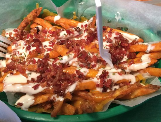 Ranch Bacon Cheddar Fries Picture Of Dat Dog New Orleans Tripadvisor