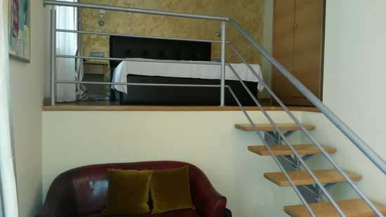 """Zaliki Boutique Hotel : Bed at """"first floor"""" - room 101"""