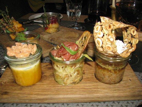 STERN Luzern: Тушеная капуста, тыквенный суп, говяжий бульон с отрубями