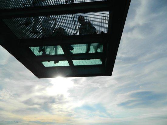 Three Country Border: Skywalk, 34 meteres above ground level.