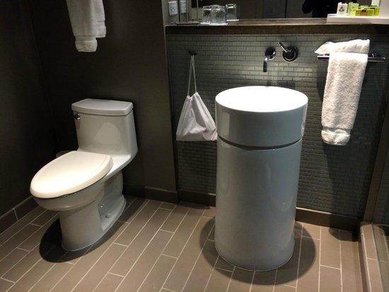 Crowne Plaza Chicago O'Hare: Banheiro