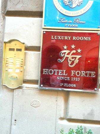 Hotel Forte: ALL'INGRESSO