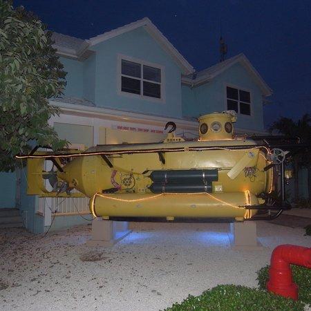 Compass Point Dive Resort: sub