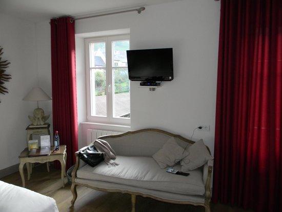 Hotel Haut-Koenigsbourg : chambre 9