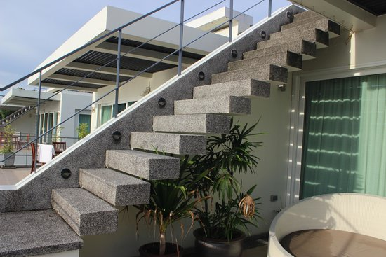 Serenity Resort U0026 Residences Phuket: Stairs To The Roof Terrace In The  Penthouse Quite