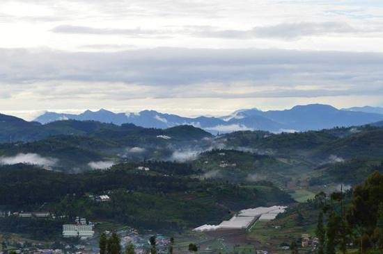I-India: view from i india ooty