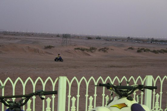 Ain Al Faida One To One Hotel And Resort: motor cycle area