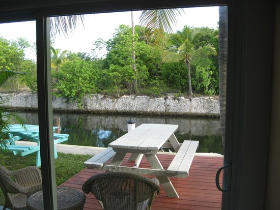 Coconut Cay Resort & Marina: VIEW from inside waterfront room.
