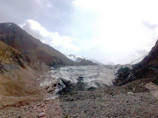 Subei County, Cina: Mengke Glacier