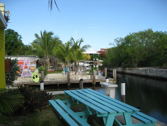 Coconut Cay Resort & Marina: Boat ramp, water toy area.