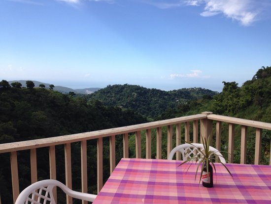 Mount Edge Guest House: Nice view