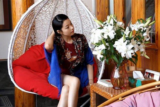 Lijiang Spiritual Utopia Hotel : 晚上可以窝摇椅里看星星~~