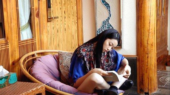 Lijiang Spiritual Utopia Hotel : 惬意惬意~~~