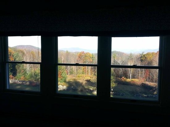 Snowvillage Inn: This is only three of the many windows overlooking the mountains