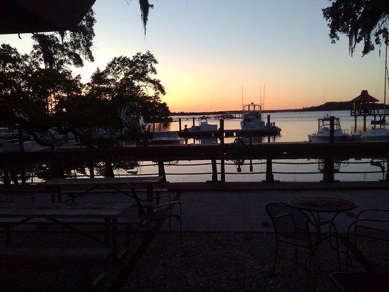 Hilton Head Harbor RV Resort and Marina: Evening shot
