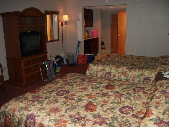 Ocean 1 Hotel and Suites: plenty of room