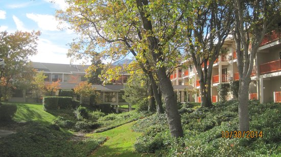 Ashland Hills Hotel & Suites: Beautiful grounds