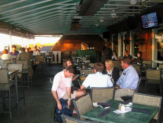 Top Of The Hill Restaurant Brewery Outdoor Seating