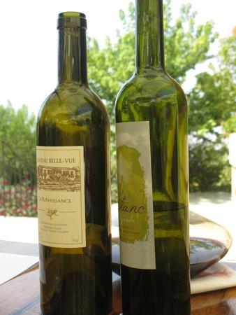 Le Telegraphe de Belle-Vue: The white wines