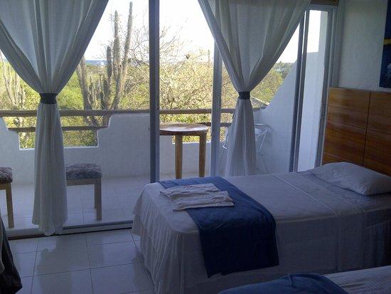 Hotel  La Casa de Judy: Chambre baignée de soleil !
