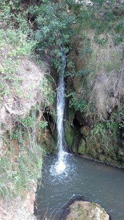 El Pont d'Armentera, España: waterfall