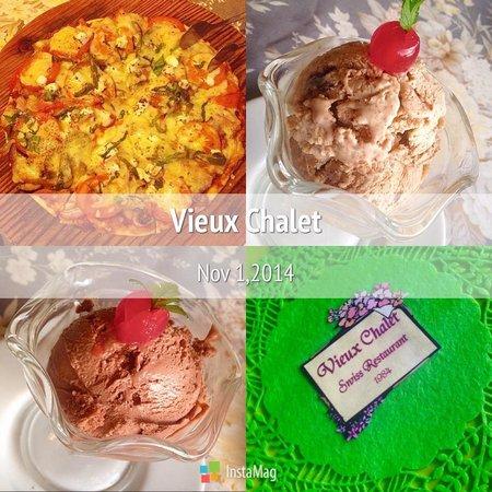 Vieux Chalet: Pizza & Ice Cream