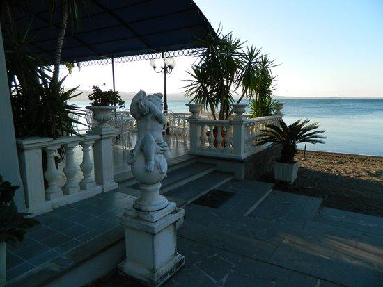 Hotel Restaurant Lido : Veranda