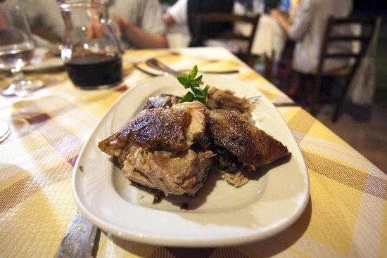 Agriturismo Terranieddas: Slow Cooked Pork