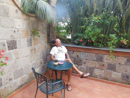 Relais Villa Angiolina: Our little patio!