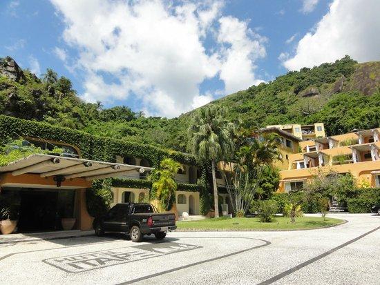 Itapemar Hotel: Vista Chegada