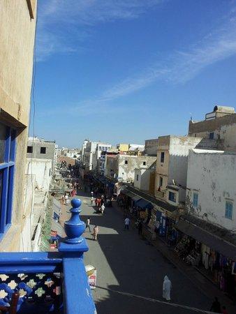 Essaouira Wind Palace : Dal balcone della camera