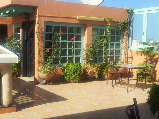 Essaouira Wind Palace : La terrazza
