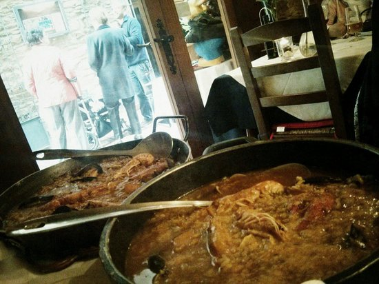 Sa Caleta : Paella y arroz caldoso :)
