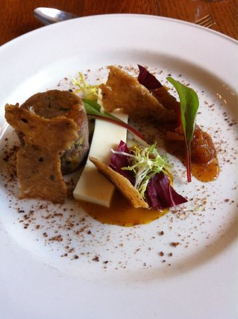 Monsal Head Hotel: Delicious duck terrine starter