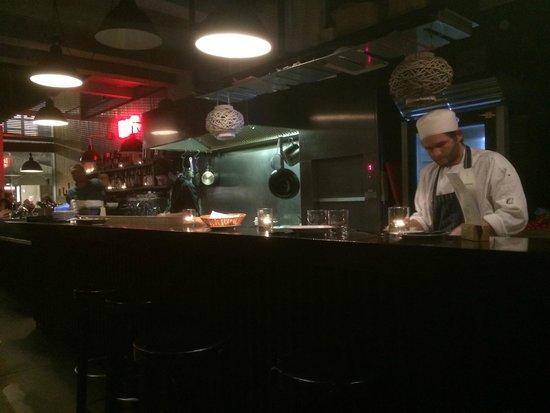 Open keuken   picture of jacob's bar & restaurant, berlin ...