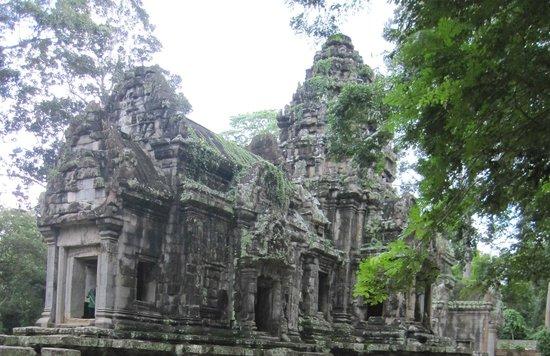 Thommanon: Vista del templo