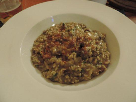 Las Cabañitas: Increible risotto de hongos made in Gerardo!!!