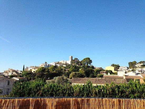 Petit Hotel Son Arnau: Blick von der Terrasse