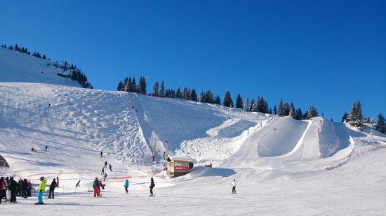 Station de ski d'Avoriaz : Хафпайп в Авориазе