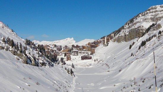 Station de ski d'Avoriaz : Вид на Авориаз