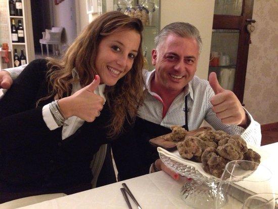Locanda San Giorgio: Con Massimo!!!