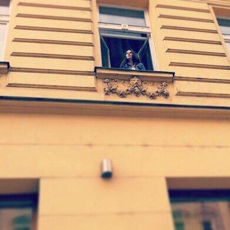 EA Hotel Manes: Из окна номера