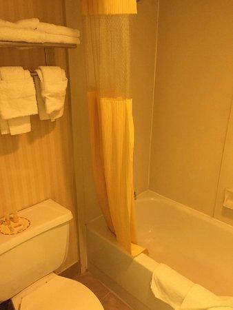 Days Inn Newark/Wilmington: banheiro