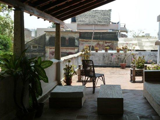 Villa Helena: Terrasse à l'étage