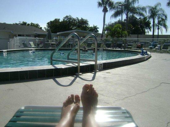 Groves RV Resort : The pool