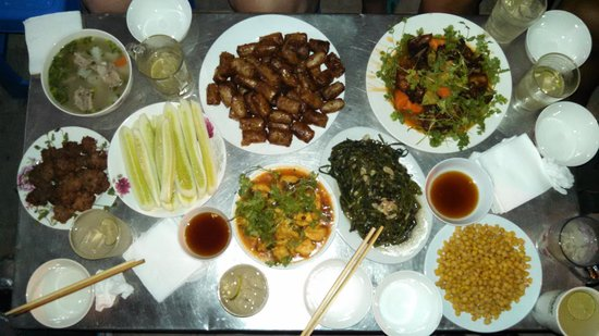 Hanoi Family Homestay : Incredible Suppers!
