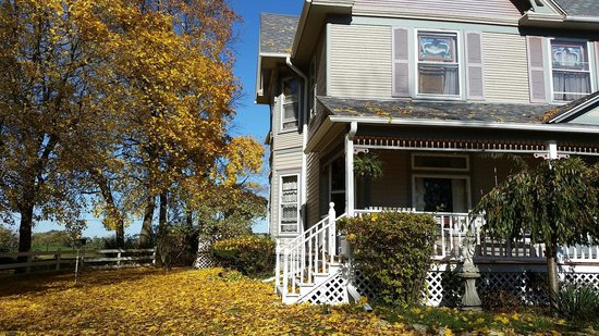 Case's Turn of the Century Bed and Breakfast: Beautiful fall colors !!