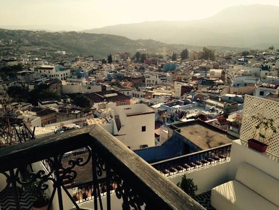 Lina Ryad & Spa: la vue de la terrasse